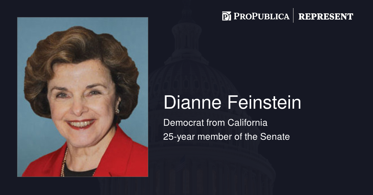 dianne feinstein committee assignments