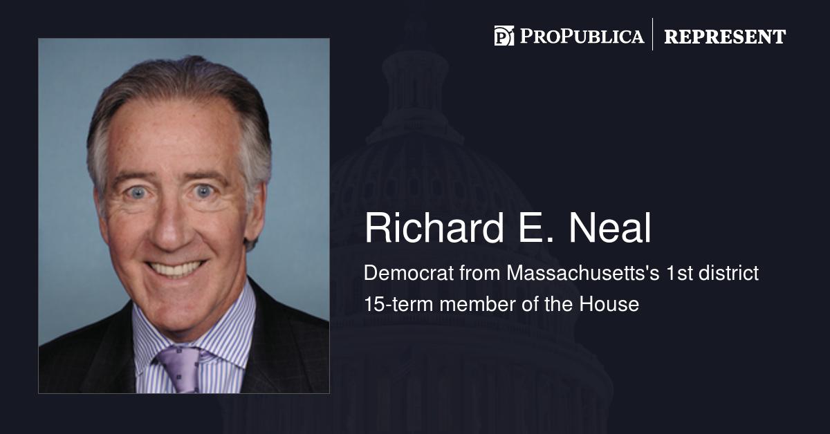 propublica.org - Derek Willis - Learn more about Richard E. Neal (D-Mass.)