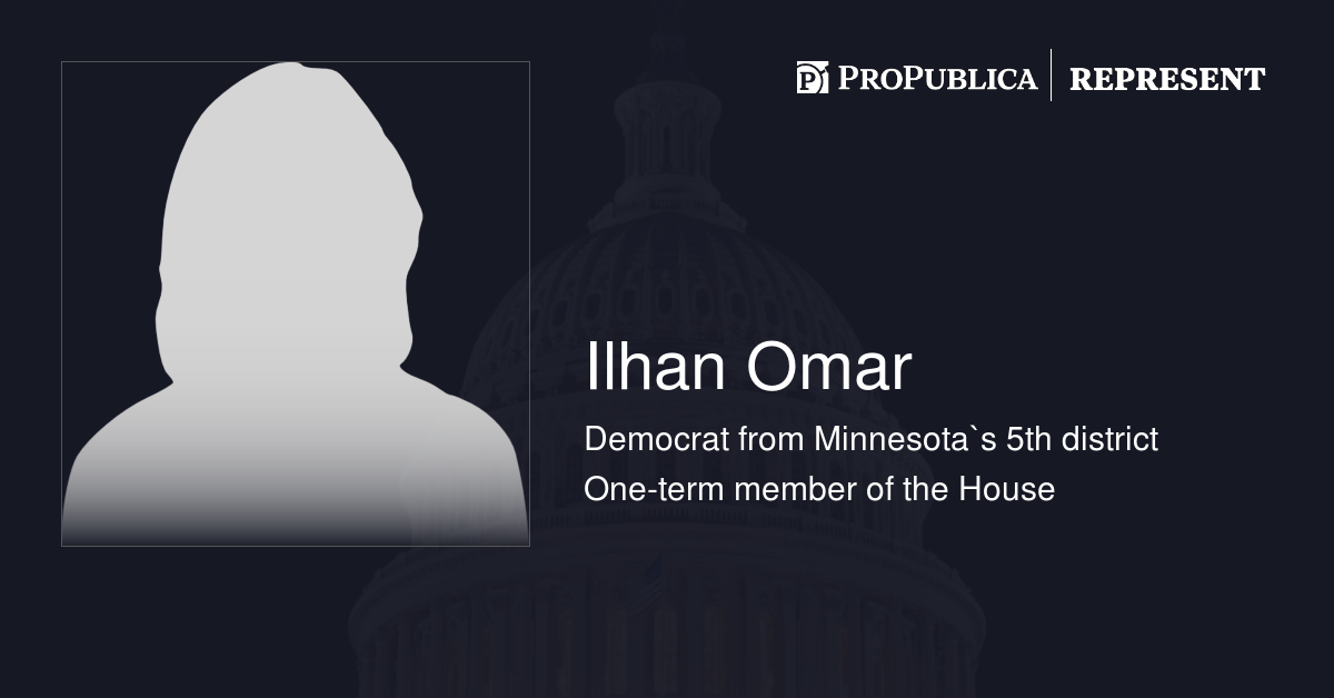 Votes Against Party Majority by Ilhan Omar (D-Minn