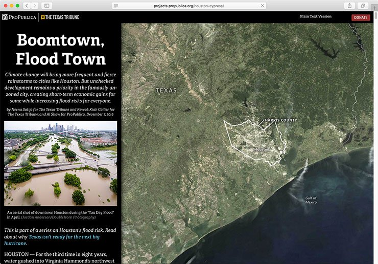 How Harvey Hurt Houston in 10 Maps